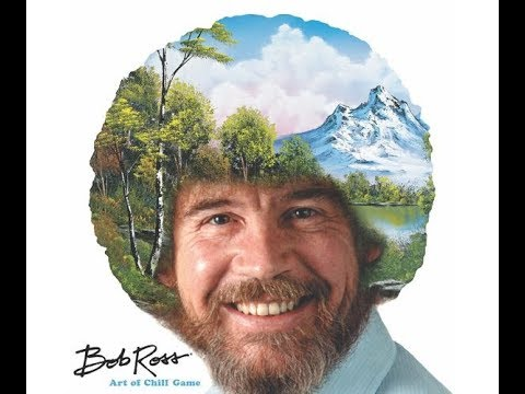 Live Bob Ross Art of Chill Game + Dicecapades on Saturday December 16th at 6pm CST