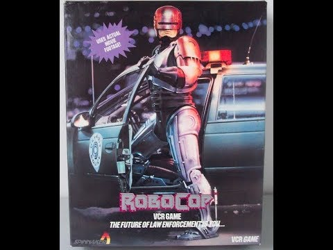 Live Mynd Kraft + Toking Hazard + Robocop VCR Game