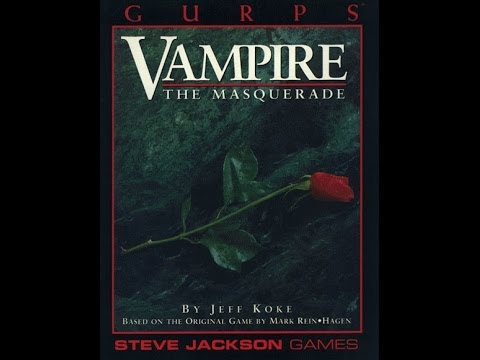 VAMPIRE THE MASQUERADE ROLEPLAYING