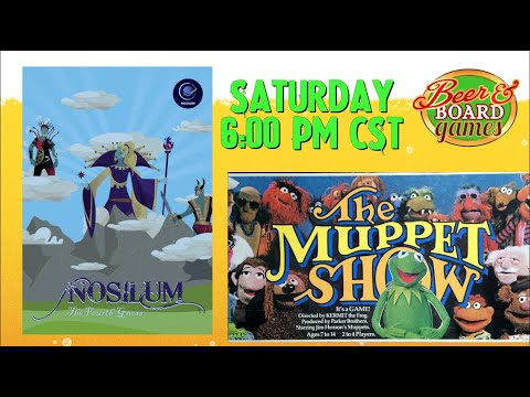 Live Nosilum + The Muppet Show Game + lots of screaming