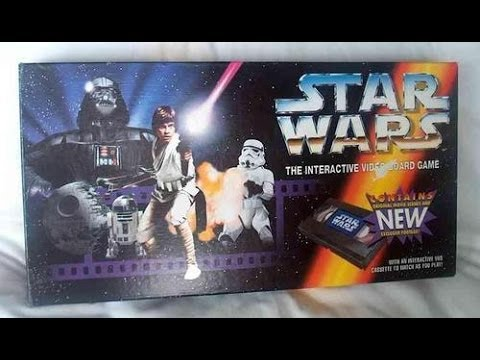 STAR WARS VHS GAME AND BATTLE AT SARLACC PIT