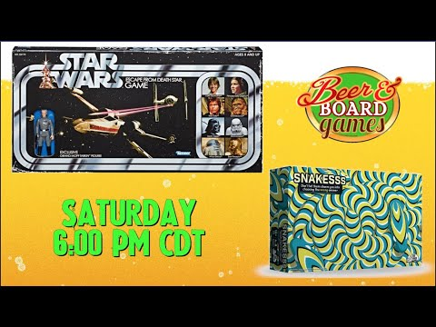 Live Snakesss + Star Wars Escape From the Death Star