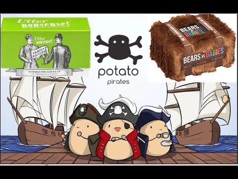 Live Potato Pirates + Utter Nonsense Naughty Edition + Bears VS Babies