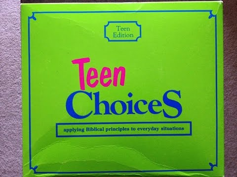 Live Personal Preference and Teen Choices (and some Snake Oil)