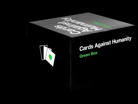 Cards Against Humanity (Green Box) + Don't Get Drunk