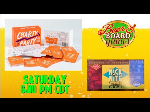 Live Charty Party + Nick at Nite Trivia Game