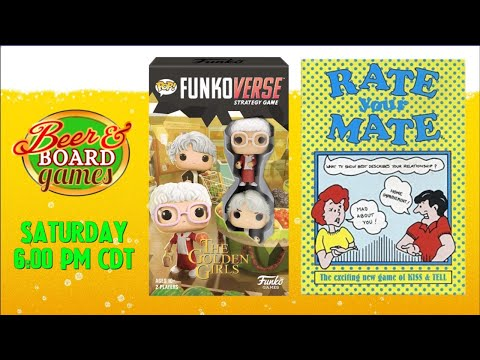 Live Funkoverse Golden Girls + Rate Your Mate