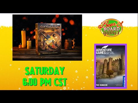 Live Gloomhaven Jaws of the Lion + Kosmos Dungeon Adventure (part 2)