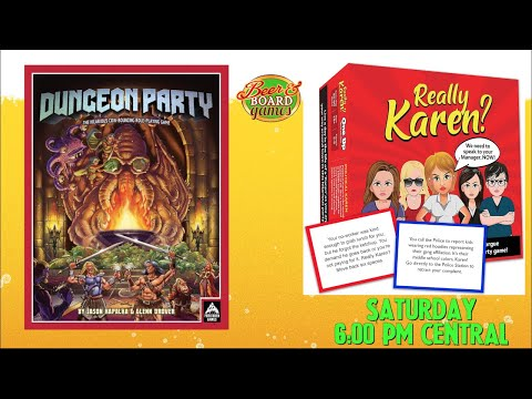 Live Really Karen? + Dungeon Party on Saturday October 23rd at 6pm Central