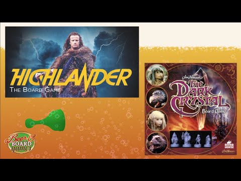The Highlander Game + The Dark Crystal Game