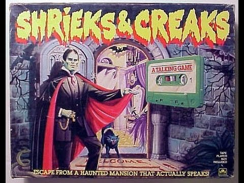 Haunted House Mystery Game and Shrieks and Creaks