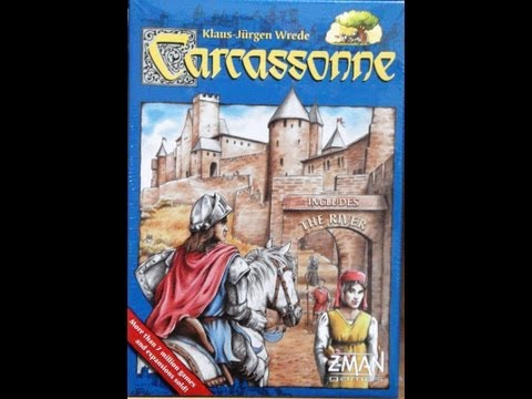 CARCASSONNE AND FRENCH SPICE TRADING GAME