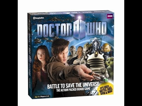 DOCTOR WHO - BATTLE TO SAVE THE UNIVERSE AND CHRONONAUTS