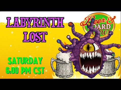 Live Labyrinth Lost RPG with special DM Byram Sean Byram