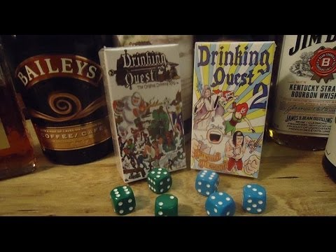 DUNGEONS AND DRAGONS STYLE ROLEPLAYING GAME AND DRINKING QUEST