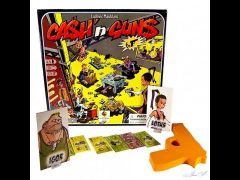 CASH 'N GUNS and FIASCO ROLEPLAYING