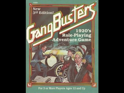 Rated RPG - Gangbusters 1920's Role-Playing Adventure Game Session 2