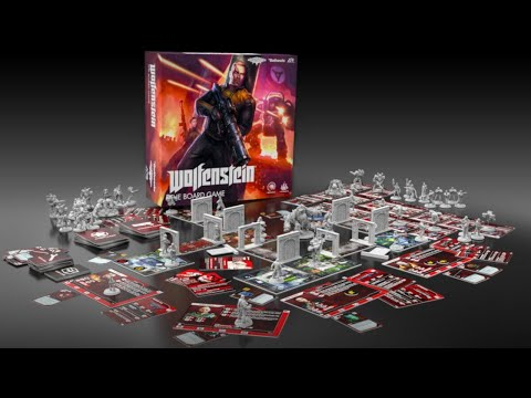 Live Wolfenstein Board Game and + Encore (Singing Game)