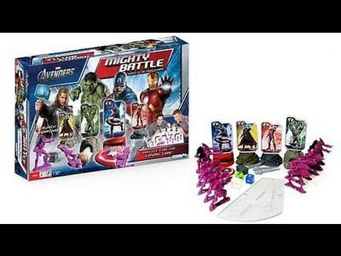 Live Avengers Mighty Battle Game and Hulk Smash
