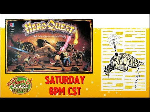 Live Heroquest and Trump Roast