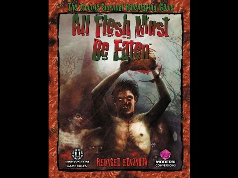 Live All Flesh Must Be Eaten (Rated RPG)