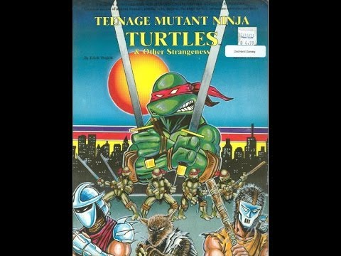 LIVE TEENAGE MUTANT NINJA TURTLES ROLEPLAYING