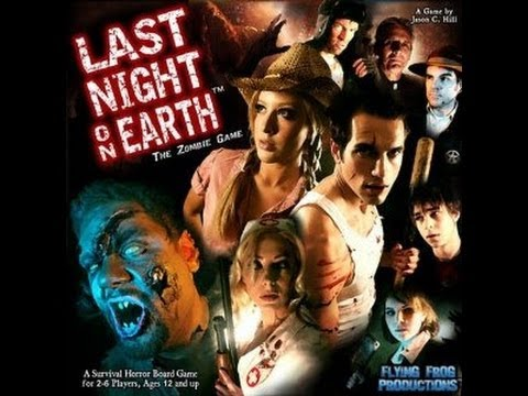 ZOMBIE GAMES - LAST NIGHT ON EARTH AND ZOMBIE FLUXX