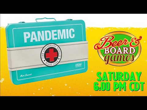 Live Pandemic on Saturday May 8th at 6pm CST