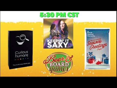 Live Curious Humans + Cards Against Humanity + Kenny G Keepin' It Saxy