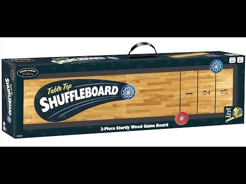 Live Tabletop Shuffleboard + Pink Mad Libs + Pick Your Poison